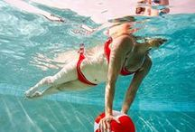 Pool Excercises / Ways to get fit while staying cool in the pool.
