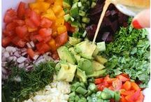 Salads / Salads don't have to be boring! Learn how to make a great salad that helps your waistline too!