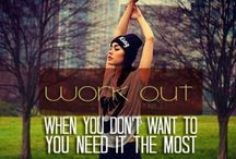Motivation / Because when you pin motivational things, people think your athletic   / by Jessica Weeks