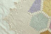 Crochet blanket borders