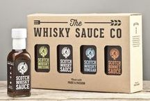 Whisky Sauces / Our range of sweet and savoury whisky flavoured sauces