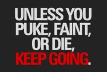 Fitspiration / Finding inspiration to do your best!