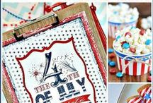 Fourth of July / Your friends at HTH Pool Care are bringing you 4th of July themed party ideas, decorations and much more to help you have the best poolside or backyard bash yet!