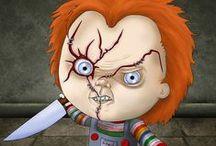 Horror Series / Una visión personal de nuestros personajes de cine favoritos... casualmente dan todos bastante miedo, no sabemos por qué :)