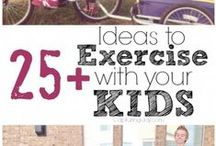 Fun Fitness for Tykes / Exercises that kids will love