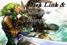 Dark Link and shadow things / Zelda Dark Link. Invite people if you want