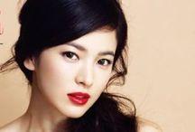 Asian beauty / Asian hair makes