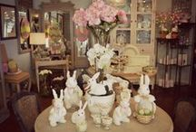 Easter / Easter decoration displays at our store to inspire you.