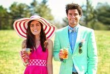 Derby Party / Inspirations to get ready for the Kentucky Derby Party on May 2nd.