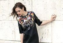 Mouvance | FW15 / Dresses, Coats, Tops, Jackets, FauxLeather — Robes, Manteaux, T-shirts, Blousons, Similicuir