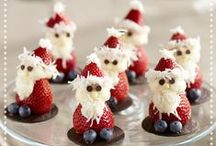 Healthier Holiday Treats! / Winter holidays can make healthy eating hard. These healthier treats should be consumed mindfully...but don't neglect your favorites this time of year!