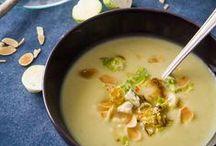 Soups - Σούπες / Healthy Soup Recipes - Υγιεινές Συνταγές για Σούπες