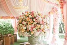 Dekoracje - duże dekoracje z kwiatów