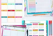 Planner Freebies / Free Planner Printables and Stickers.  Freebies and goodies for Filofax, Kikki K, ECLP, Happy Planner, Discbound and more!