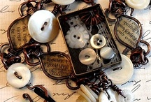 Altered Art, Wire, Mixed Media Jewelry