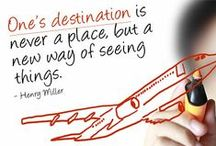 Awesome Travel Quotes / There is no better education than to gain experience through travel.