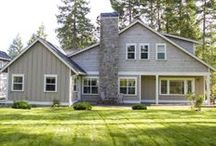 Homes at Hood Canal Fine Homes / We have two beautifully designed home collections- the Classic and Carefree, with a total of nine floor plans to choose from.