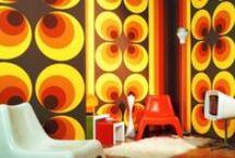 Retro futurist interior