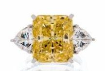 The My Faux Diamond Canary Collection / My Faux Diamond presents the beautiful simulated canary diamond jewelry collection!