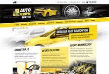 WebDesign / Zobacz nasze projekty graficzne stron