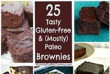 Brownies ~ Gluten-Free / Gluten-Free & (mostly) Paleo Brownies