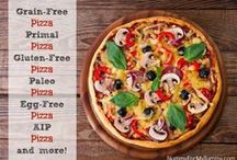 Pizza ~ Gluten-Free / Gluten-Free pizza and pizza inspired dishes.