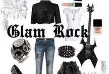 GLAM / Glam rock Black is this years pink!