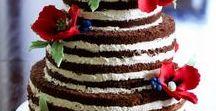 Nahé torty / Naked cakes / Torty, ktoré sa neskrývajú za poťah, vás dostanú svojou prirodzenosťou a jednoduchosťou.