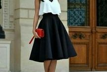 Skirts - Fashion Ideas / Skirt combinations