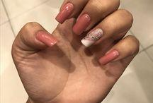 Minhas unhas - by Maira / Feita por Gleice Maciel