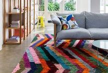 Floor Ideas / Comfy and cozy or chic and stylish.  Get inspired with these floor and rug pins.