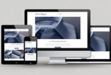 Portfolio - Web / As a full service digital marketing agency, we help our clients create custom websites, from concept, through design and development.