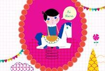 print and pattern: illustrations & concepts / by Giselle Rolando