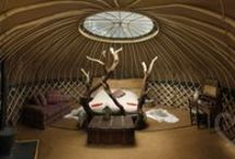 Glamping hens. / From eco lodges to yurts, bell tents to shepherd's huts - it doesn't get more romantic than this. If you are looking for self catering hen party accomodation, then we have the venue for you. Find out more at The Hen House: http://www.henpartyvenues.co.uk