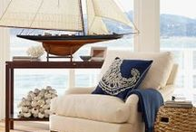 Vacation Home / Torn between a rustic retreat and a home on the water.What's a girl to do? / by Gloria Stagmer