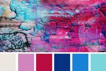 Color Schemes / Color schemes in interior design
