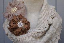 Knitting and crochetting