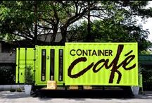 Container Cafe, Restaurants / by Roger Dubois