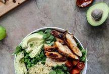 chow // salads