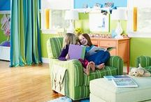 Children's Bedroom Ideas / Create a magical oasis for your little one. Inspire creativity and innovation with these great designed spaces.