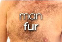 Man Fur / Closeups of hairy gods men and super furry gods. No bush is too dense!