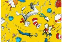 Dr Seuss Fabric / Dr. Suess fabric is bright, colorful, fun, and perfect for sewing for both boys and girls! This board features the Seuss inspired fabric offered by Whimsical Fabric Shop and sewing project ideas and patterns! This is a great place to browse for Dr. Seuss inspired sewing ideas!