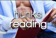 Hunks Reading Books / Nothing turns me on more than a hot guy reading. Even more so if they're reading one of our titles!
