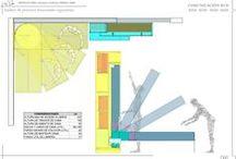 Planos Técnicos y Ergonomía de Mobiliario / Construction plans