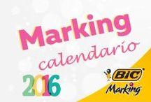 Calendario BIC / Descarga tu calendario BIC y llena el 2016 de color. :)