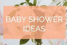 Baby Shower Ideas / Ideas for setting up a baby shower, including food, decorations, games and more!