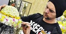 Virágkötészet mesterfokon / Virágkötészet mesterfokon: virágkötő mestervizsga munkák