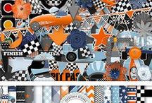 The Race Is On by Ilonka's Scrapbook Designs
