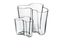BEAUTY IS THE HARMONY OF FUNCTION AND FORM - Alvar Aalto / The Iittala Aalto vase is one of the most iconic glassware in the modern Scandinavian design.