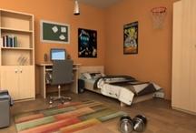 Dječje sobe / Osnovni elementi u opremanju dječje sobe su krevet, ormari i police te radni stol i stolac za školarce.  Dječje sobe izrađujemo po mjeri , a kupcima savjetujemo da prilikom uređenja dječje sobe ne treba pretjerivati s namještajem, već ostaviti i dovoljno slobodnog prostora za dječju igru i aktivnosti. / by namjestaj doriva
